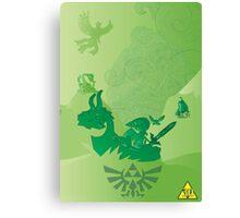 Zelda 30th Anniversary Canvas Print
