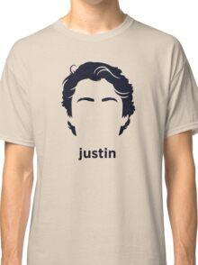 Justin Trudeau (Hirsute History) Classic T-Shirt