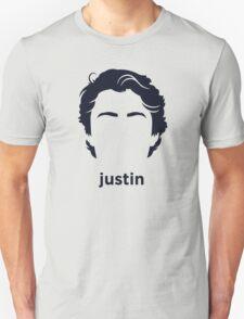 Justin Trudeau (Hirsute History) Unisex T-Shirt
