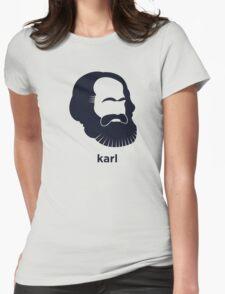 Karl Marx (Hirsute History) Womens Fitted T-Shirt