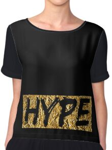 Hype (T-shirt, Phone Case & more) Chiffon Top