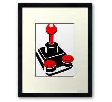 Shut up and play vintage! Framed Print