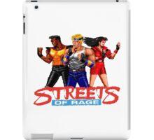 STREETS OF RAGE  - SEGA GENESIS iPad Case/Skin
