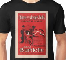 Artist Posters Chimes from a Jester's Bells humorous stories by Robert J Burdette 0709 Unisex T-Shirt