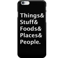 Cynical Helvetica Hipster iPhone Case/Skin