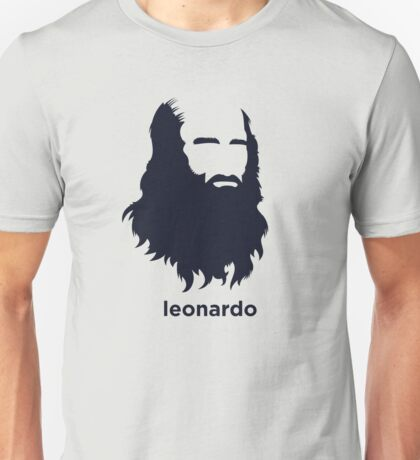 Leonardo Da Vinci (Hirsute History) Unisex T-Shirt