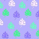 Foliage - purples  by Brett Manning