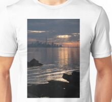 Good Morning, Toronto - the Skyline From Across Humber Bay Unisex T-Shirt