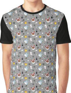 Ghibli Doodles Graphic T-Shirt