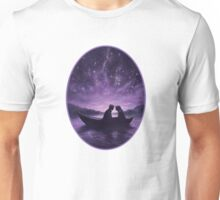 Lovers under a starlit sky Unisex T-Shirt