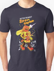"""SPACE CAPTAIN Robot Toy """"Made in Japan"""" Unisex T-Shirt"""