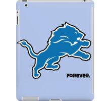 Detroit Lions Forever.  iPad Case/Skin