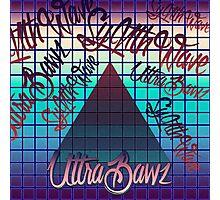 "Synthwave Graffiti, ""UltraBawz"" Design (non-NEON Version) Photographic Print"