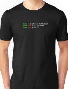 git trashed Unisex T-Shirt