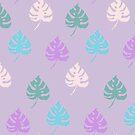Foliage - pinks by Brett Manning