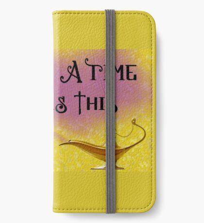 Once Upon a Time there was This Lamp... iPhone Wallet/Case/Skin