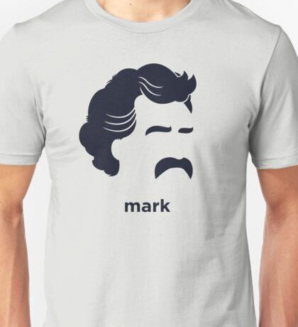 Mark Twain (Hirsute History) Unisex T-Shirt