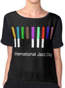 International Jazz Day Chiffon Top