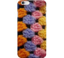 Pastel Knit Squares iPhone Case/Skin