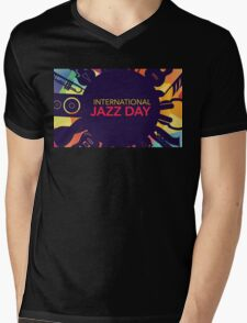 International Jazz Day Mens V-Neck T-Shirt