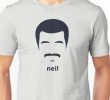Neil Degrasse Tyson (Hirsute History) Unisex T-Shirt