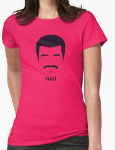 Neil Degrasse Tyson (Hirsute History) Womens Fitted T-Shirt