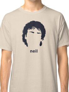 Neil Gaiman (Hirsute History) Classic T-Shirt