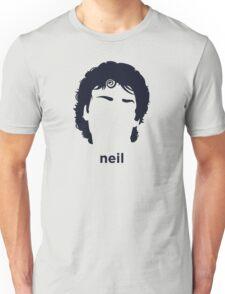 Neil Gaiman (Hirsute History) Unisex T-Shirt