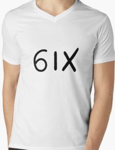 6ix Side Mens V-Neck T-Shirt