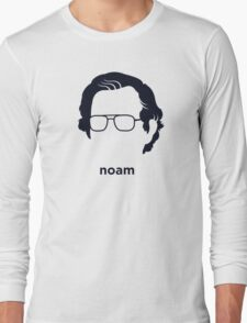 Noam Chomsky (Hirsute History) Long Sleeve T-Shirt