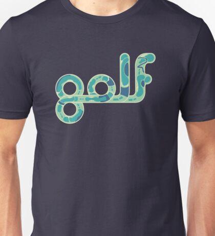 Golf.  Unisex T-Shirt