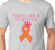 Fight Like a Princess - Orange Unisex T-Shirt