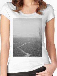 Dark Waters Women's Fitted Scoop T-Shirt