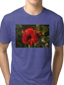 Red Velvet in the Garden  Tri-blend T-Shirt