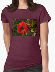 Red Velvet in the Garden  Womens Fitted T-Shirt