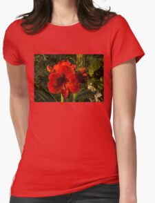 Red Velvet in the Garden  Womens Fitted T-Shirt