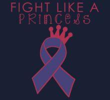Fight Like a Princess - Purple One Piece - Short Sleeve