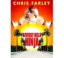 BEVERLY HILLS NINJA CHRIS FARLEY Photographic Print
