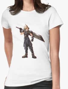 Final Fantasy VII - Cloud  Womens Fitted T-Shirt