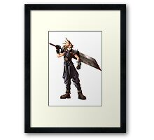 Final Fantasy VII - Cloud  Framed Print