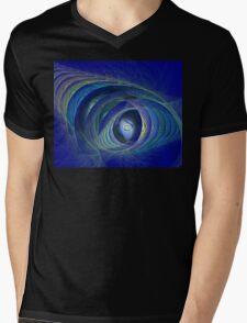 Aquarius Mens V-Neck T-Shirt