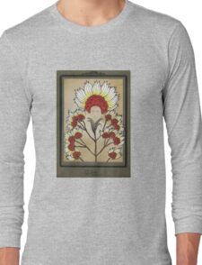 Red Flowers Bride Long Sleeve T-Shirt