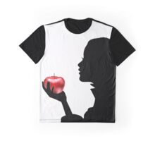 Snow White Silhouette Graphic T-Shirt