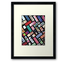 Picture Collage ~ Comic Book Strips  Framed Print