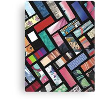 Picture Collage ~ Comic Book Strips  Canvas Print