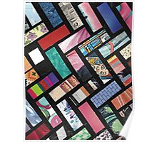 Picture Collage ~ Comic Book Strips  Poster