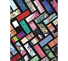 Picture Collage ~ Comic Book Strips  Photographic Print