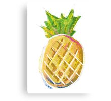 Pastel Pineapple Canvas Print