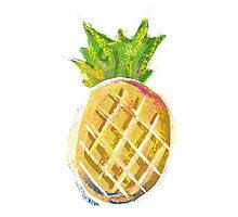 Pastel Pineapple Photographic Print