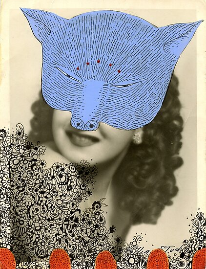 Cat Woman by SusanSanford